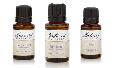 Natures Inventory Essential Oils (0.5 Fl. Oz. Each)