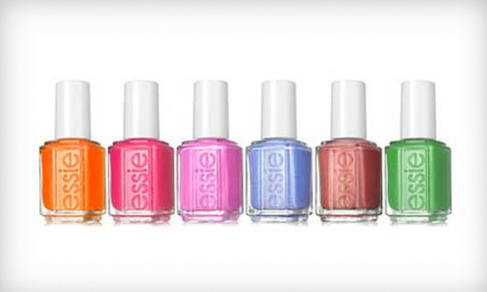 Image Nails Skin Beauty - Downtown: $45 for Two Luxury Mani-Pedis at Image Nails Skin Beauty ($140 Value)