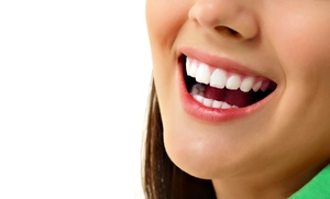 Carrollton Smiles: Dental Exam with a Take-Home Whitening Kit or In-Office Whitening at Carrollton Smiles (Up to 74% Off)