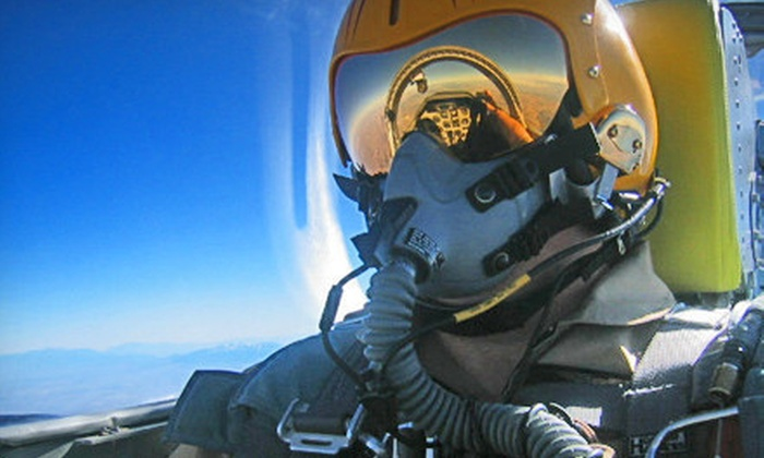 Fighter Combat Inc - Southwestern Sacramento: Hands-On Fighter-Pilot Experience with 40 or 60 Minutes of Practice Air Combat from Fighter Combat Inc (Up to 54% Off)