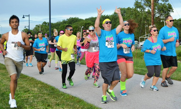 Totally RAD 80s Run - Lincoln: Entry for One or Two to the Totally RAD 80s Run on Friday, August 30, at 7:15 p.m. (49% Off)