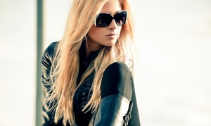 Ultimate Image Salon: Haircut Package or Conditioning and Blowout Styling at Ultimate Image Salon (Up to 66% Off)