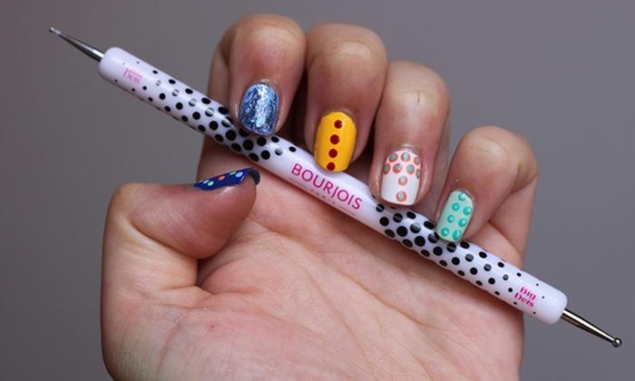 Bourjois Nail Art Dotting Tool Groupon Goods