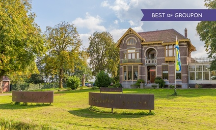 Westerlee, Groningen: 2-4 Tage für 2 inkl. Frühstück, Prosecco und opt. 1x 6-Gänge-Menü im 4* Hotel Landgoed Westerlee