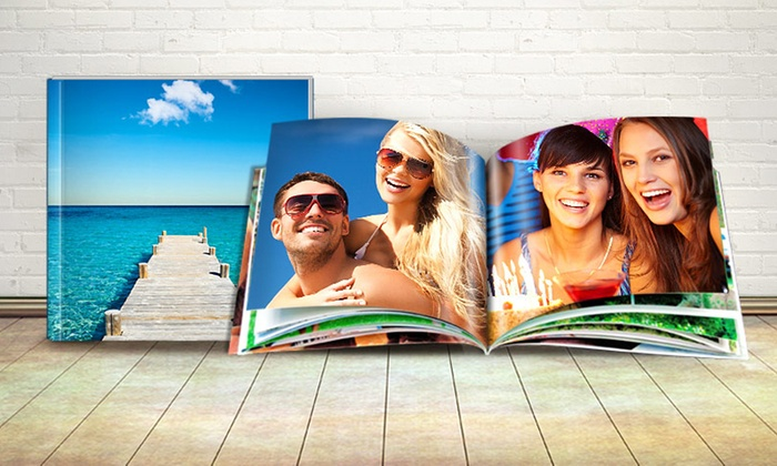 Printerpix: Personalized Photo Book from Printerpix (Up to 64% Off). Three Options Available.