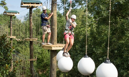 Aerial Adventure Park Admissions at Radical Ropes Adventure Park (Up to 26% Off). Six Options Available.