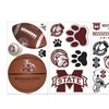 College-Sports Peel-and-Stick Wall Decals