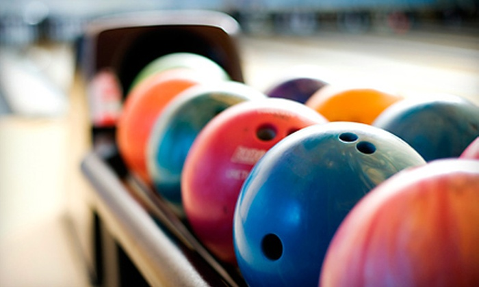 Parkway Bowl - Parkway Mall: 90-Minute Bowling Outing with Shoe Rental for 6 or 12 at Parkway Bowl (Up to 58% Off)