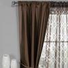 Faux Silk Window Panel Set (5-Piece)