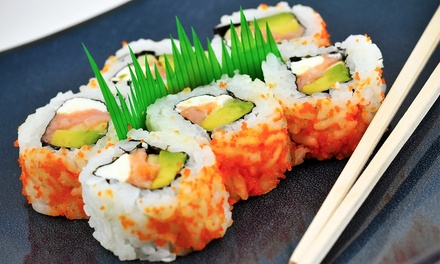 Sushi and Teppanyaki Cuisine for Lunch or Dinner at Hon Machi Sushi & Teppanyaki (40% Off)