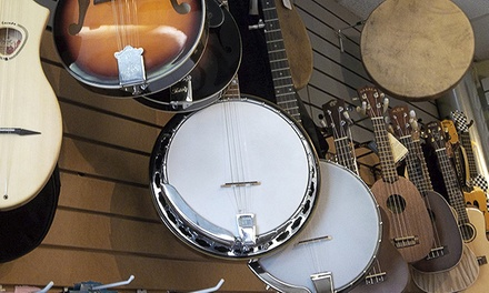 $25 for Two 30-Minute Banjo Lessons at David Jones Banjo Lessons ($50 Value)