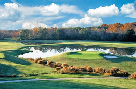 $37 for Round of Golf with Cart and Bucket of Range Balls at Wolf Creek Golf Club ($74 Value)