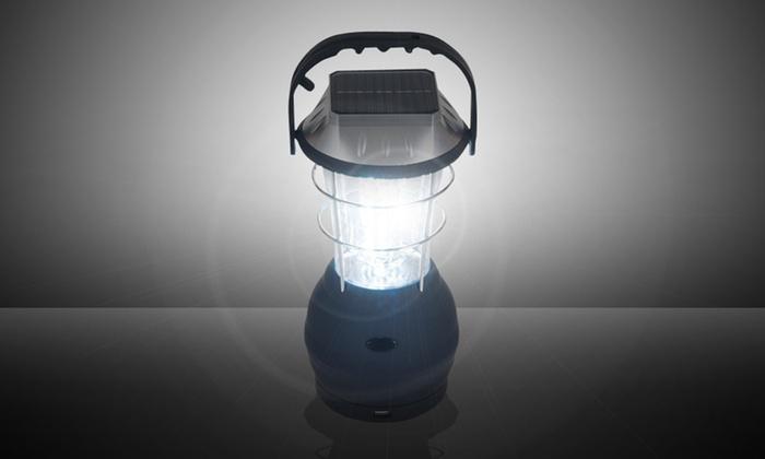 36-LED Solar- and Crank-Power Camping Lantern: 36-LED Solar- and Crank-Power Camping Lantern. Free Returns.