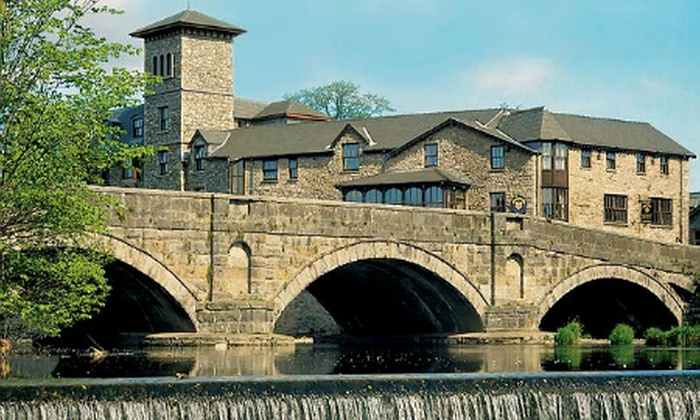 The Riverside Hotel - Kendal: Lake District: 1 or 2 Nights For Two With Breakfast and Dinner from £99 at The Riverside Hotel (Up to 51% Off)