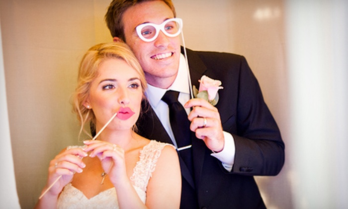 Flashbox Photo Booths - Washington Culver: Two- or Four-Hour Photo-Booth Rental Packages from Flaashbox Photo Booths (Up to 61% Off)
