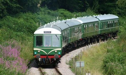 One-Day Unlimited Train Travel Tickets at Dean Forest Railway (33% Off)