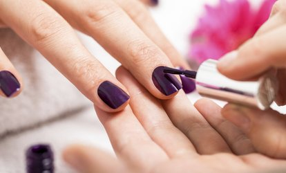 image for Shellac Gel Manicure or Spa Pedicure  at Eden of Ashburn Salon & Spa (Up to 42% Off)