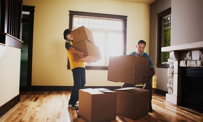 Element Moving and Storage - Southwest Carrollton: Two Hours of Moving with Two or Three People from Element Moving and Storage (50% Off)