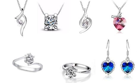 Déstockage bijoux ornés de cristaux Swarovski®