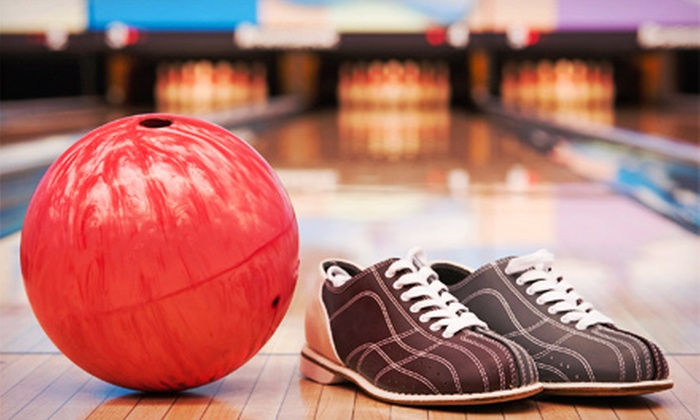 Market Square Lanes - Lafayette: $25 for Two Hours of Bowling for Up to Six with Shoe Rentals and Drinks at Market Square Lanes (Up to $71.50 Value)