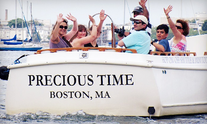 Boston Harbor Shuttle - Multiple Locations: All-Day Shuttle Rides for One, Two, or Four from Boston Harbor Water Shuttle (Up to 55% Off)