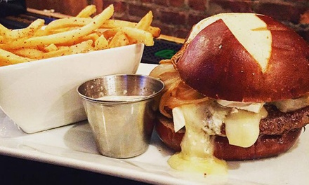 Pub Food for Dinner or Lunch for Two or Four at Tavern on Third (Up to 52% Off)