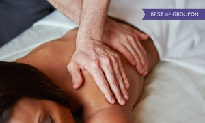 Skin Science: One or Three Custom Massages, One Hot-Stone Massage, or Massage and Facial at Skin Science (Up to 63% Off)