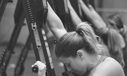 One or Three Months of Unlimited Classes with Nutritional Counseling at Sirens Fitness (Up to 61% Off)