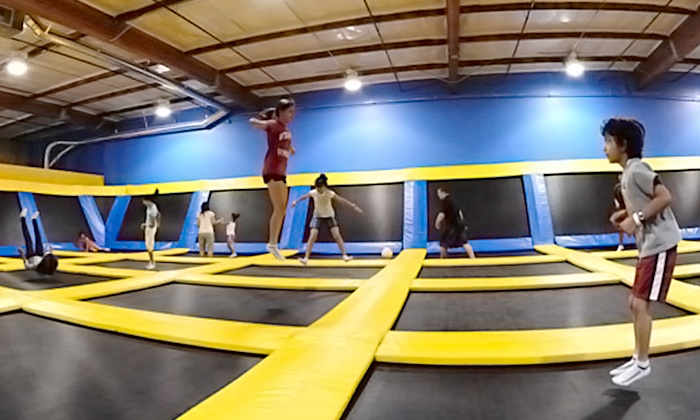 Great Jump Sports - Milpitas: $199 for a Two-Hour Trampoline Birthday Party Package for 10 Kids at Great Jump Sports (Up to $285 Value)