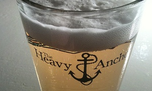 The Heavy Anchor: Admission to Any Concert or Event and Drinks for Two or Four at The Heavy Anchor (Up to 52% Off)