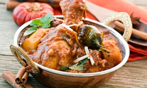 Little India Cafe: Indian Meal for Two or Four at Little India Cafe (Up to 33% Off)