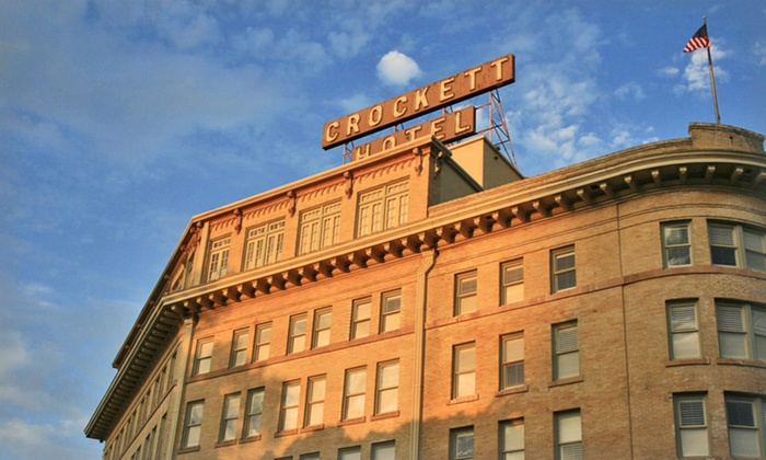 Crockett Hotel - Downtown San Antonio: Stay at Crockett Hotel in San Antonio, with Dates into August