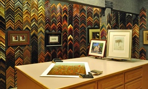Studio Seven Arts: Custom Framing at Studio Seven Arts (Up to 67% Off). Two Options Available.