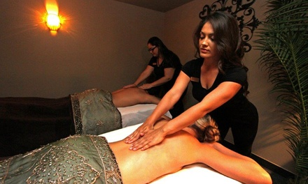 50- or 80-Minute Couples' Massage or Karma or Namaste Spa Package for One at Spa Velia (Up to 42% Off)
