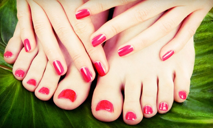 Sheila Shults Nail Artist - 5: One or Two Spa Manicures and Regular Pedicures from Sheila Shults Nail Artist (Up to 54% Off)