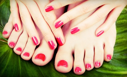 One or Two Spa Manicures and Regular Pedicures from Sheila Shults Nail Artist (Up to 54% Off)