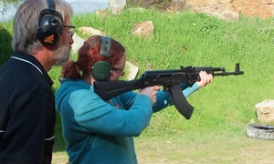 False Bay Firearm Training Academy: .22 Caliber Handgun or Rifle Shooting with 50 Rounds of Ammunition from R175 at False Bay Firearm Training Academy