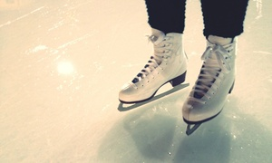 Swains Centre: Up to Two Hours of Ice Skating for Up to Four at Swains Centre (80% Off)