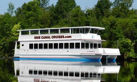 Erie Canal Sightseeing Cruise for Two or Four from Erie Canal Cruises (Up to 41% Off)