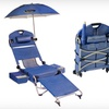 $239.99 for a Folding Beach Chair on Wheels with Speakers