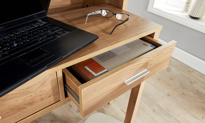 Regis Extending Console Desk Groupon Goods