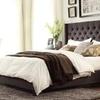 Skyline Upholstered Tufted Bed