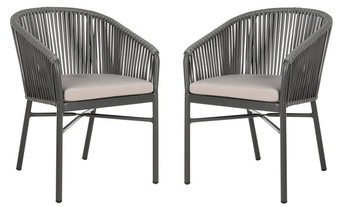 Pleasing Safavieh Outdoor Rope Chairs 2 Pack Groupon Download Free Architecture Designs Ferenbritishbridgeorg