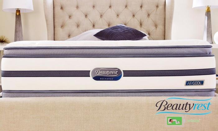 simmons beautyrest recharge logo. Simmons Beautyrest Recharge Plush Pillowtop Mattress Set Logo