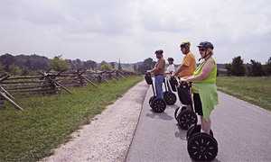 SegTours, LLC: 90-Minute Escorted Segway Ride Through Gettysburg for One or Two from SegTours, LLC (Up to 39% Off)