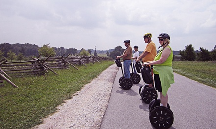 90 Minute Escorted Segway Ride Through Gettysburg for One or Two from SegTours (Up to 46% Off)