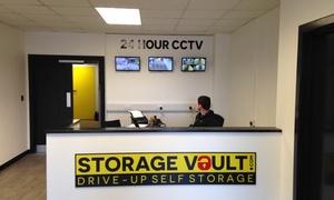 Storage Vault: One- or Three-Month Storage Unit Rental from Storage Vault (Up to 90% Off)