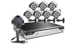 Zmodo Security Systems With 960h Dvr And 4 Or 8 Cameras