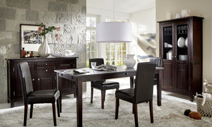 komplett esszimmer groupon goods. Black Bedroom Furniture Sets. Home Design Ideas