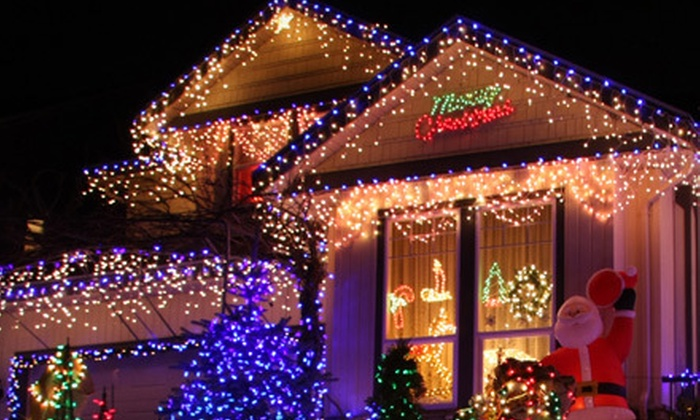 Almaden Valley Window Washing - San Jose: Holiday Light Installation and Optional Takedown Services from Almaden Valley Window Washing (Up to 54% Off)